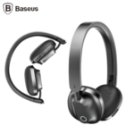Baseus Encok D01 Foldable Stereo Wireless Bluetooth Headphones (Black)