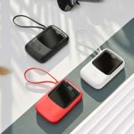 SALES!!! Baseus Q Pow Digital Display 10000mAh Power Bank (Available in Black, white and red)